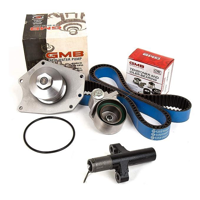 Evergreen TBK295HPHWP Timing Belt Kit Tenisoner Water Pump Fit 98-02 Plymouth Dodge Chrysler 3.2 3.5