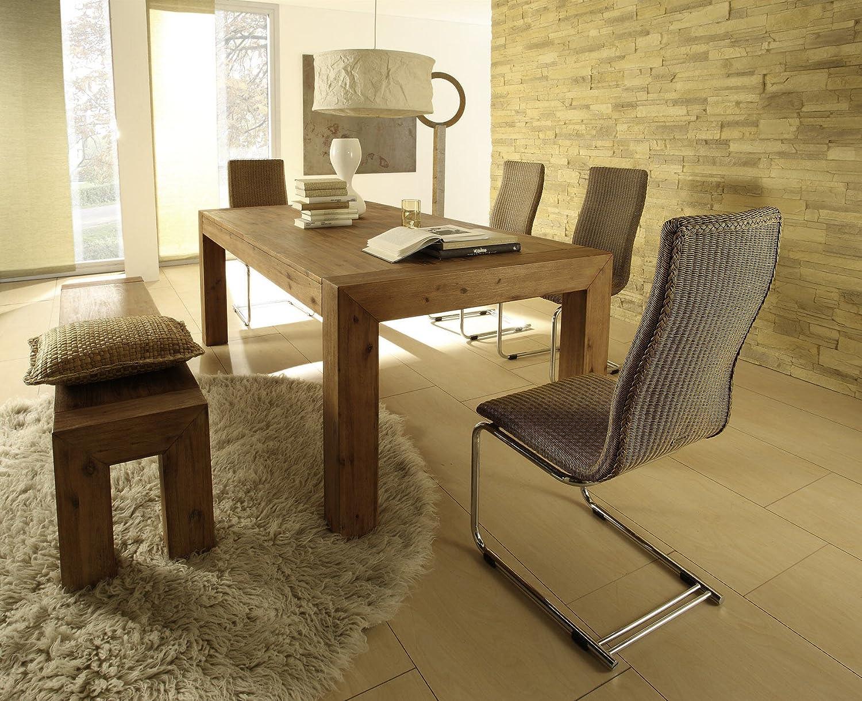 Design tisch massiv holz for Massivholztisch design