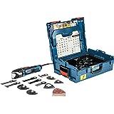 Bosch Professional Multi-Tool GOP 55-36 (550 Watt, Leerlaufschwingzahl 8.000 – 20.000 Min-1, in L-Boxx)