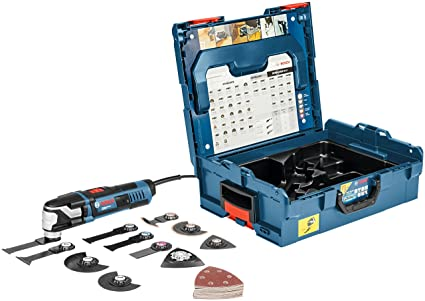 Bosch professional utensile multifunzione gop blu amazon