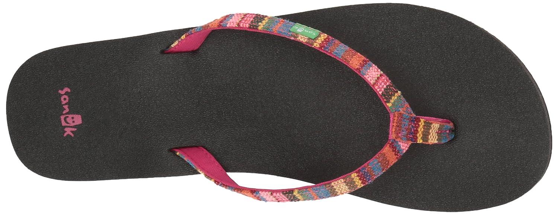 Sanük Damen Zehentrenner Funk Flip Flops Yoga Joy Funk Zehentrenner Cabaret Kauai Blanket cb0c58