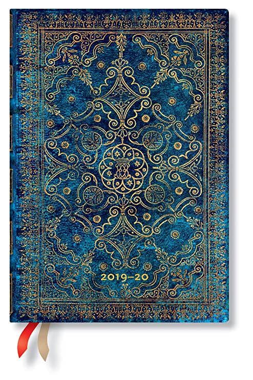 Azure Blue Midi Week-at-A-Time Academic Planner 2019-20 by Paperblanks (5606-5)