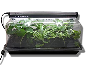 sunblaster mini greenhouse kit with nanodome a horticultural led