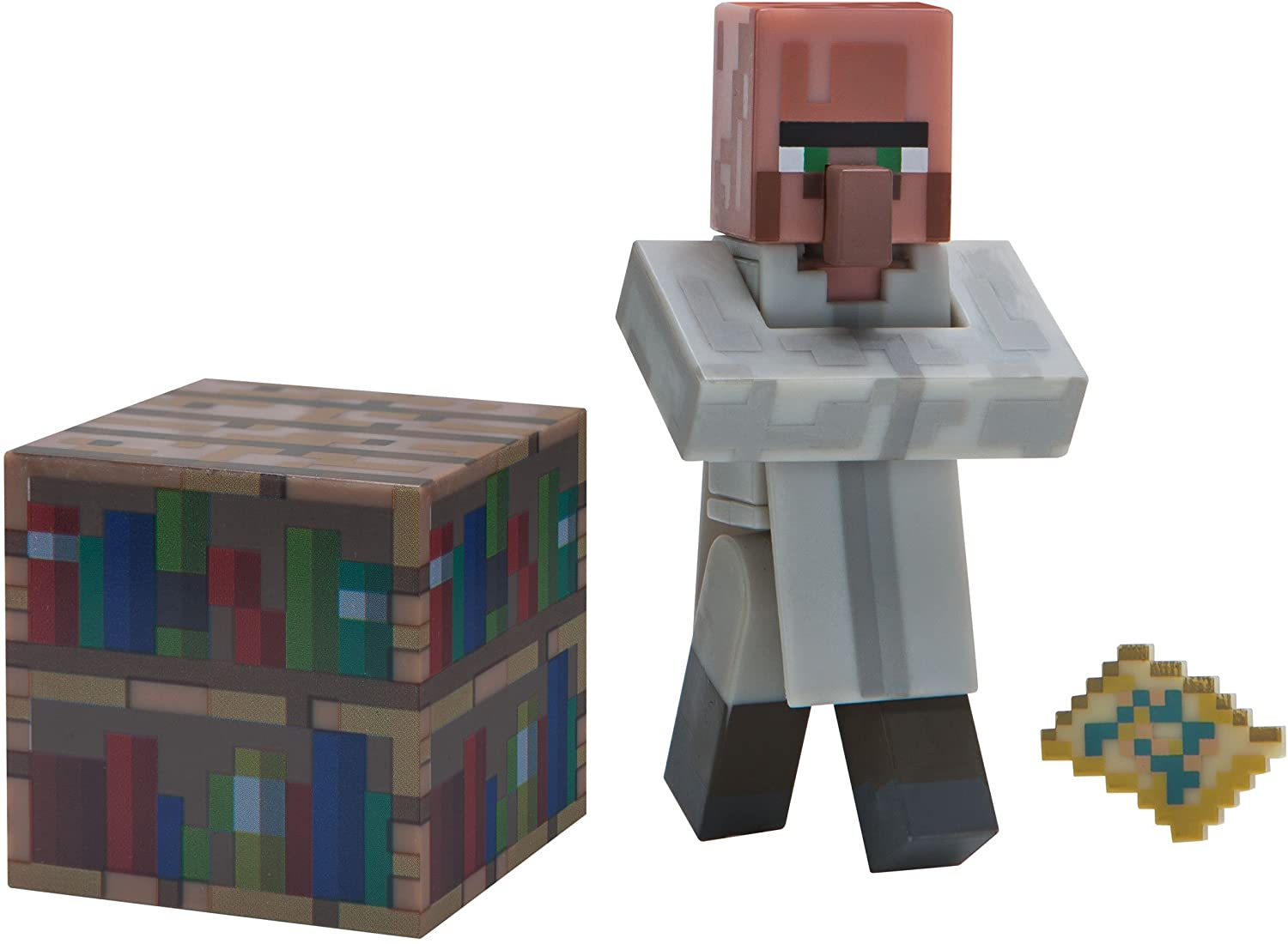 Minecraft Villager Librarian Figure Pack
