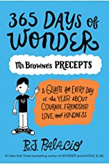 365 Days of Wonder: Mr. Browne's Precepts Kindle Edition