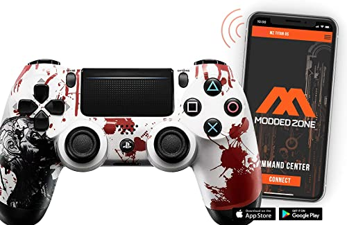 Zombie PS4 PRO Rapid Fire Custom Modded Controller 40 Mods review