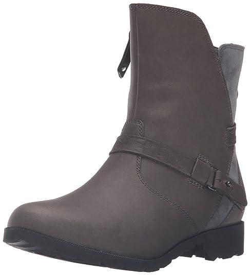 W Delavina Low-Mosaic Boot, Grey