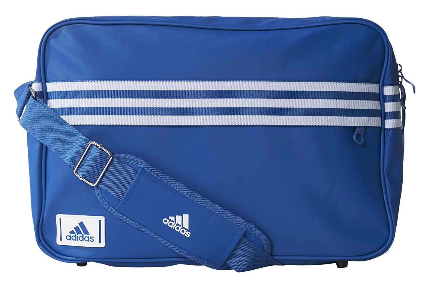 dc5cdf24fa ADIDAS 3 stripe Enamel messenger   shoulder bag  blue   Amazon.co.uk   Sports   Outdoors