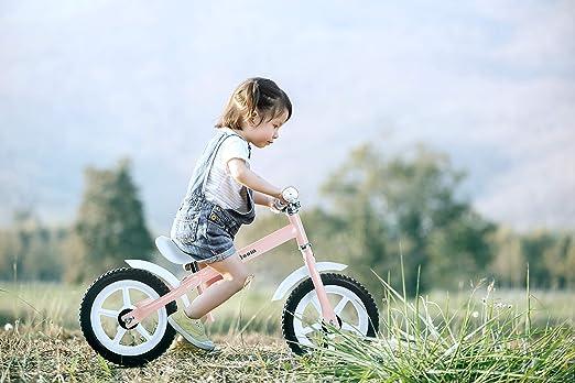 Lalaloom BERRY BIKE - Bicicleta sin pedales aluminio rosa andador ...
