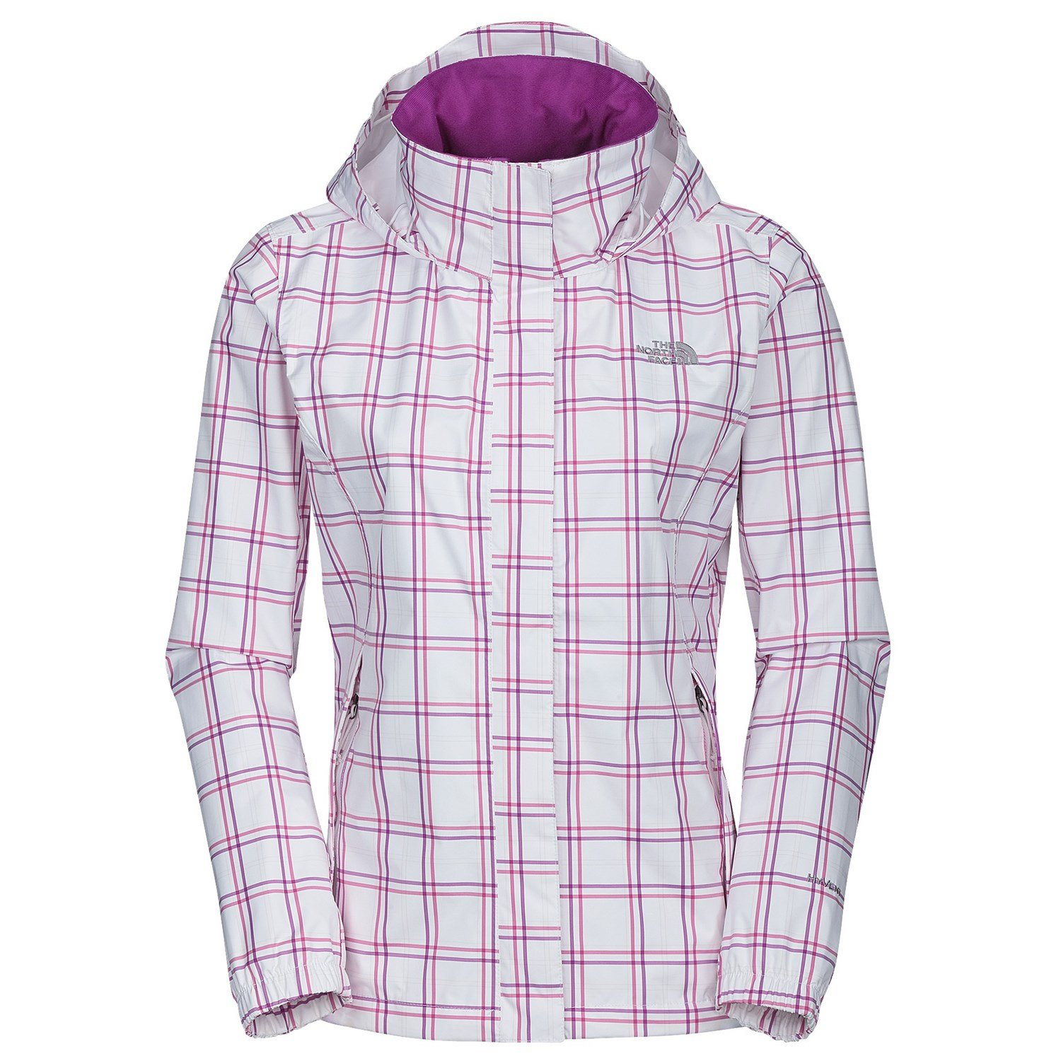 The North Face Women's novelty resolve Jacket white pink XS