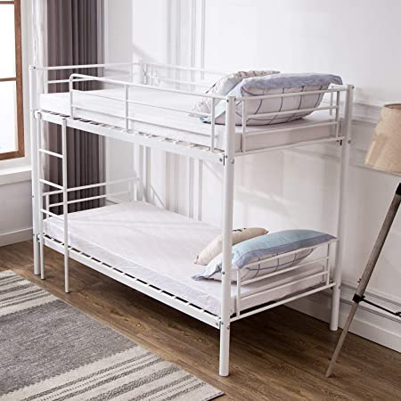 Metal Single Bunk Beds Frame 2 3 Ft Single Bed For Adults Children