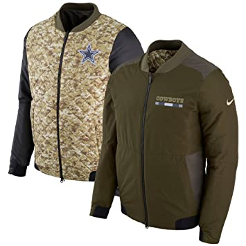 Amazon Jacket To Nike com Salute Bomber Dallas Clothing Sideline Service Cowboys efffafccdafaed|NFL Recap Of Dallas Cowboys Vs New Orleans Saints On September 29th 2019