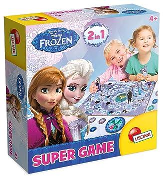 Juego de Habilidad Jenga Frozen B4503175 Hasbro Gaming