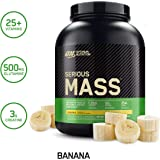 OPTIMUM NUTRITION Serious Mass Weight Gainer Protein Powder, Banana, 2.72 kg