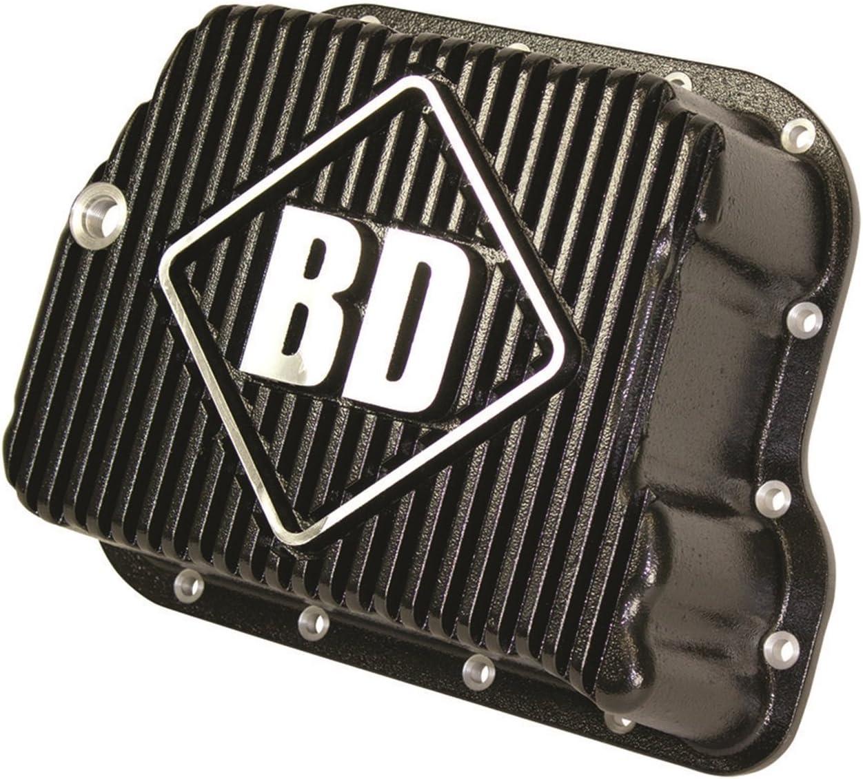 BD Diesel 1061501 Deep Sump Transmission Pan Holds 2 Quarts Incl. Pan w/Temp. Sending Unit Port/Pan Gasket/Magnetic Drain Plug//Hardware Deep Sump Transmission Pan