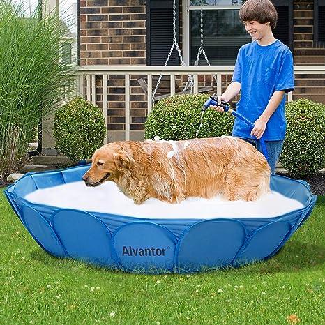 Alvantor Pet Swimming Pool Dog Bathing Tub 63