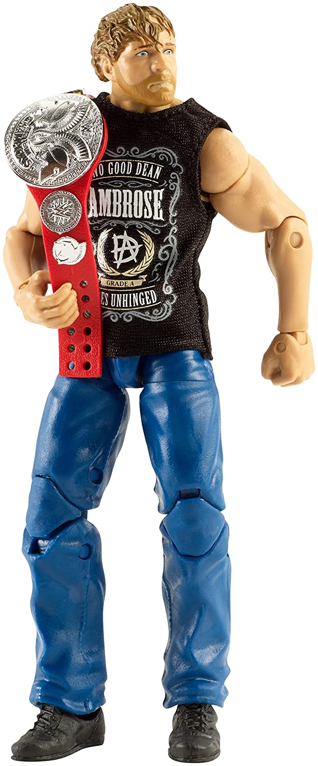 WWE Dean Ambrose Sleeveless Hoodie Accessory Mattel Elite Figure Clothes