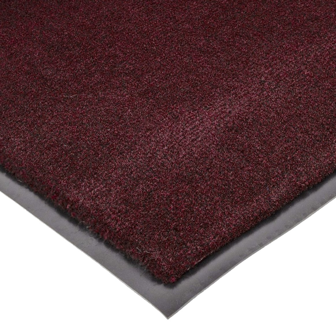 Notrax 130 Sabre Decalon Entrance Mat, for Entranceways and Light to Medium Traffic Areas, 3' Width x 10' Length x 5/16'' Thickness, Burgundy