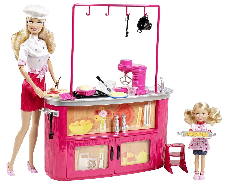 Barbie W2761 Cocina I Can Be Muntilde Eca Profesora De Cocina