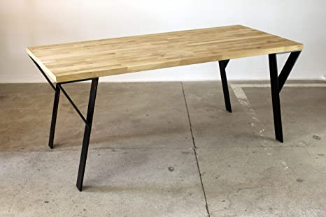 Tischbeine Tischgestell Tischuntergestell Tischkufen Tischfüße Stahl