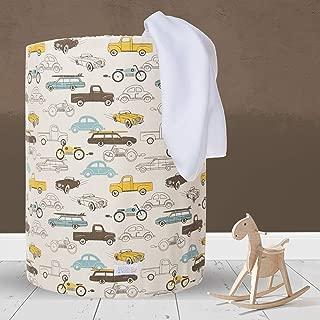 "product image for Glenna Jean Hamper, Traffic Jam, Beige, 17"" x 17"" x 23"""