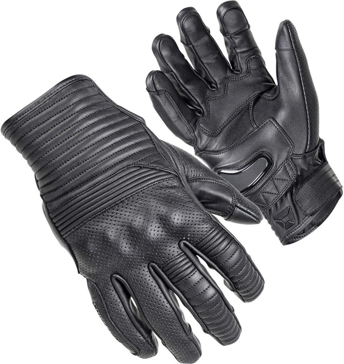 Cortech Max 43% OFF BLVD Bully Leather Superlatite Gloves Small Black