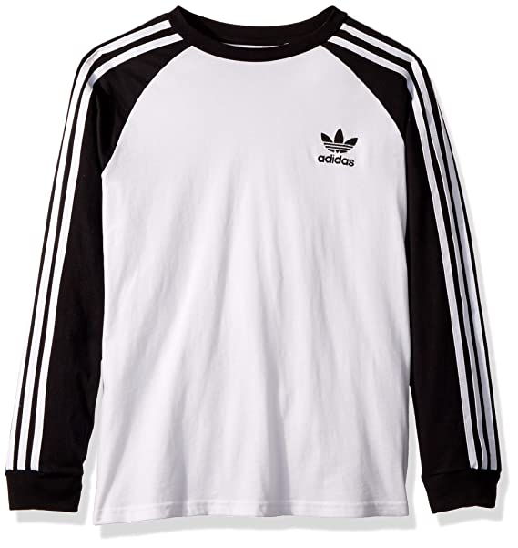 amazing price check out new release adidas Originals Boys' Long Sleeve California Tee