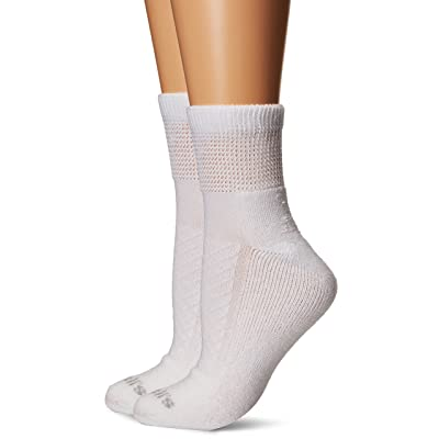 Dr. Scholl's Women's 2 Pack Advanced Relief Ankle Socks with Blisterguard: Clothing