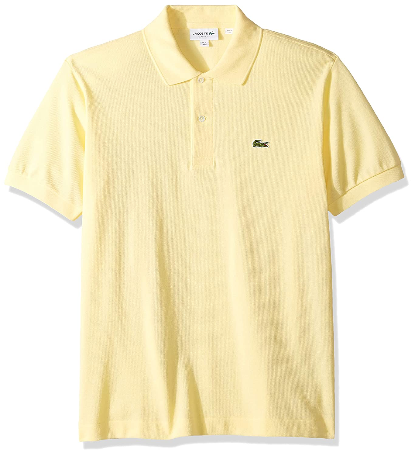 f260122e78 Lacoste Men's Short Sleeve Classic Pique Polo Shirt at Amazon Men's  Clothing store: