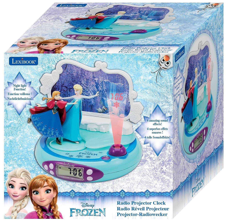 Disney Frozen - Radio Despertador con proyección de la Hora ...