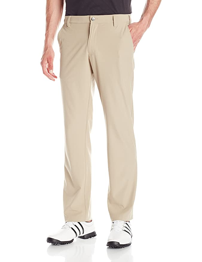 adidas Golf Men's Ultimate Regular Fit Pants, Khaki, Size 36/32 best men's golf pants