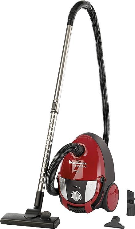 Moulinex mo152301 aspirador con bolsa Compacteo 1800 W rojo: Amazon.es: Hogar