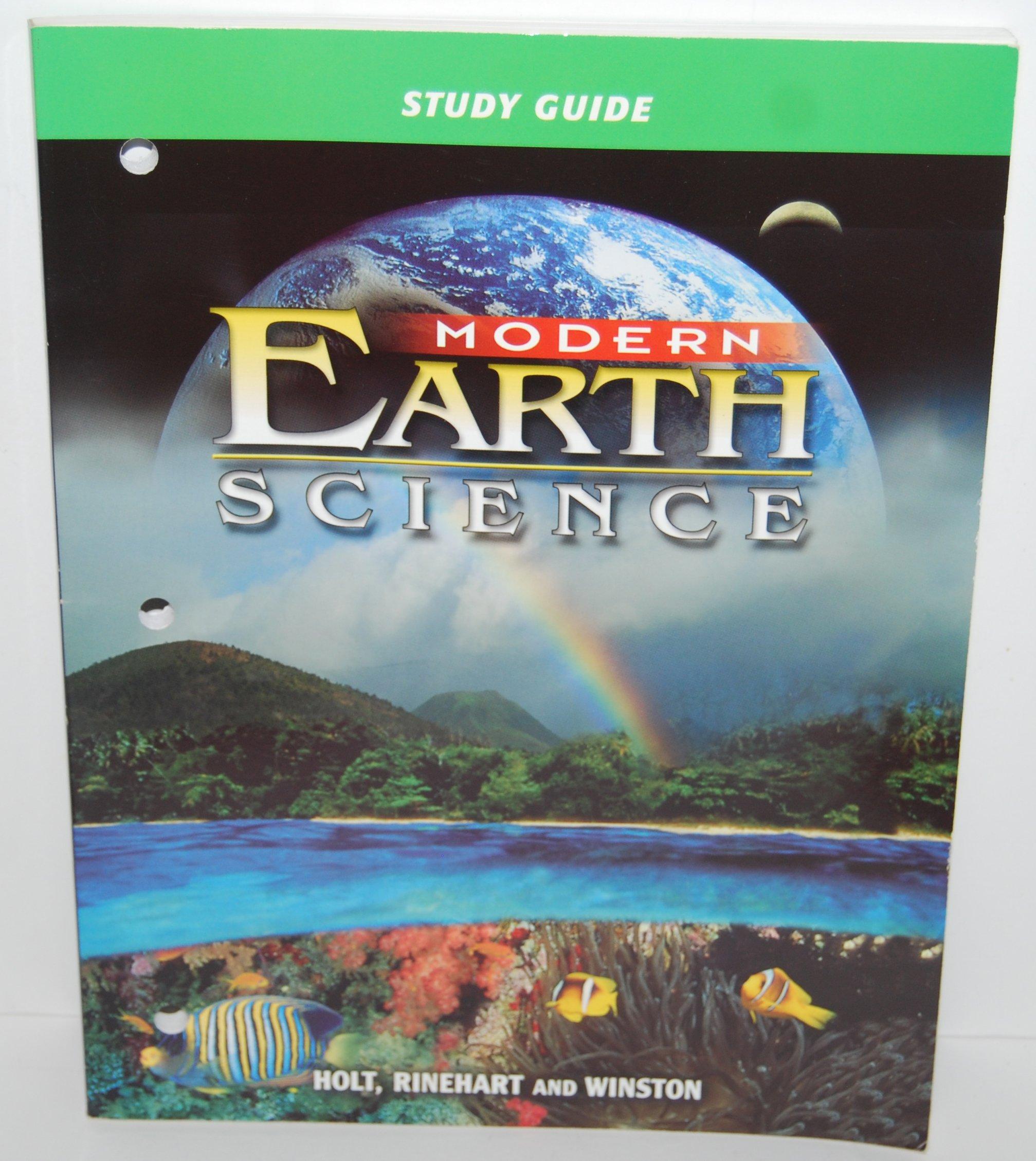 Modern earth science study guide holt rinehart winston modern earth science study guide holt rinehart winston 9780030643149 amazon books fandeluxe Images