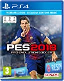 Pro Evolution Soccer 2018 - Premium Edition PES - Playstation 4 PS4