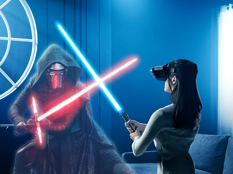 Realidad Virtual (VR) Lenovo Mirage + Mando espada láser