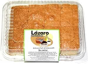 Lázaro Bizcocho Sin Azúcar Con Maltitol 1 Unidad 350 g. Pack de 4 ...