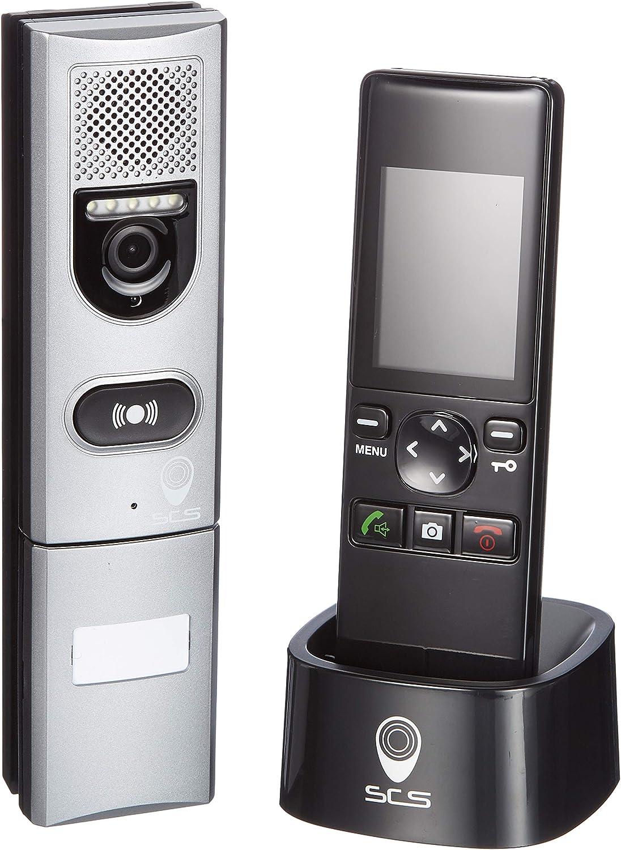 SCS SEN4139552: videoportero inalámbrico con monitor, alcance 200m, visualización en color