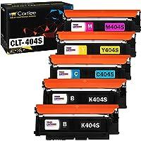 Cartlee 5 Compatible Toner Cartridges Replacement for Samsung CLT-K404S CLT-C404S CLT-M404S CLT-Y404S (2 Black, 1 Each…