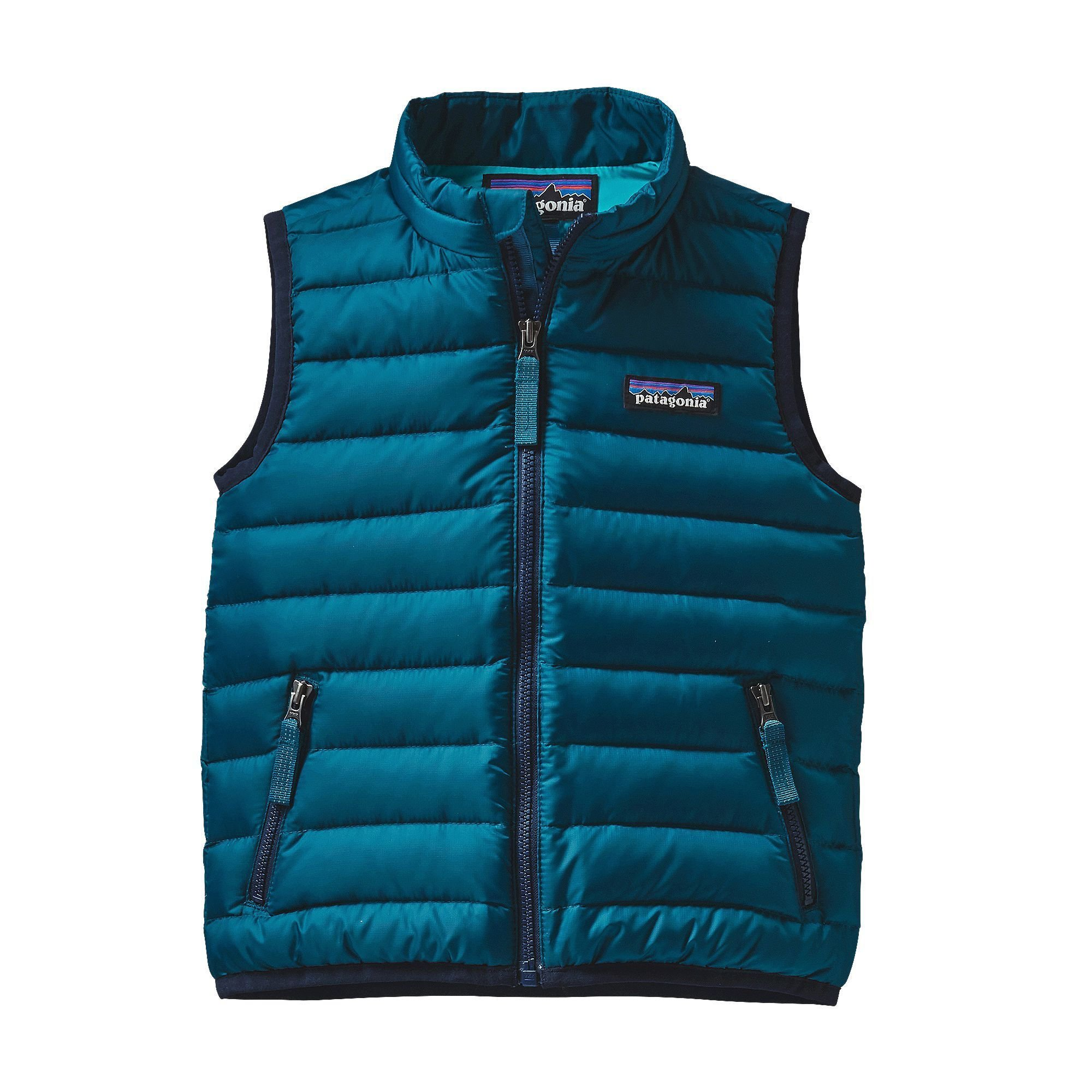 Patagonia Down Sweater Vest Baby Deep Sea Blue Unisex Baby 2T by Patagonia (Image #1)