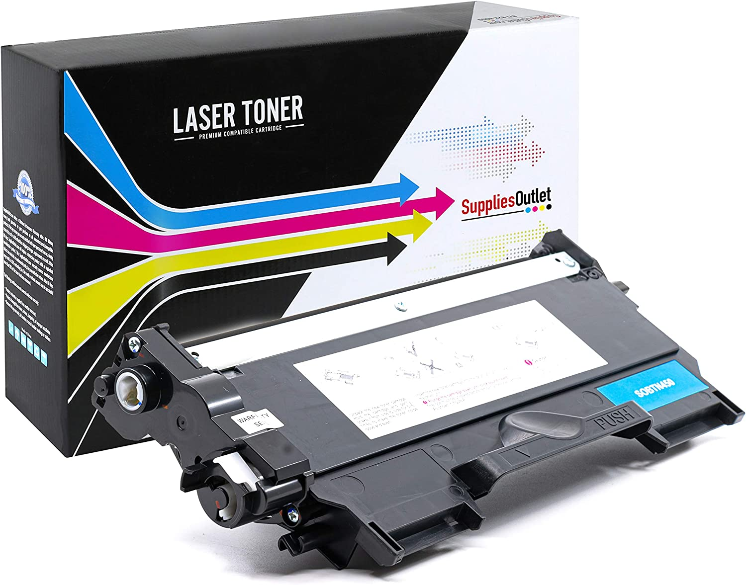 USA Advantage Compatible Toner Cartridge Replacement for Brother TN420 TN-420 Black,1 Pack TN450 TN-450 for Use with MFC-7860DW