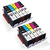 GREENSKY Compatible Ink cartridges 564 564XL for PhotoSmart 7510 7515 7520 7525 6515 6512 6510 6520 5514 5515 5510 5520 Printer(2Large Black,2Photo Black,2Cyan,2Magenta,2Yellow-10 Pack)