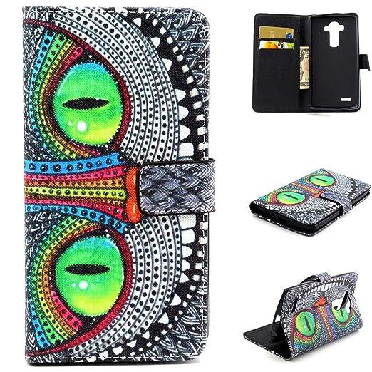 16 opinioni per Dokpav® LG G4 Custodia,Ultra Slim Sottile Flip Pelle PU Case Cover Per LG G4 Con