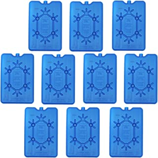 NEMT Lot DE 10 accumulateurs de Froid Plats 200 ML 11 x 16,5 x 1,5 cm