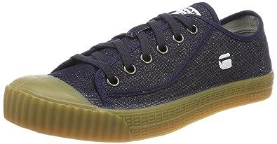 G-STAR RAW Herren Rovulc Hb Mid Sneaker, Blau (Dk Navy 881), 41 EU