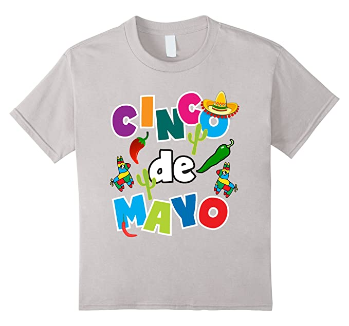 Amazon.com: Cinco De Mayo Shirt For Kids Men Women Pinata Sombrero ...