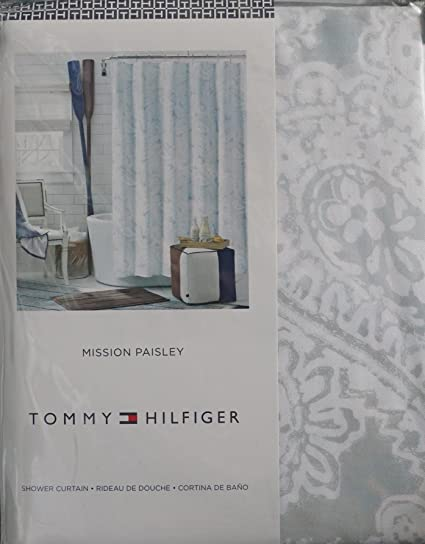 Tommy Hilfiger Shower Curtains - Shower Curtain Rod