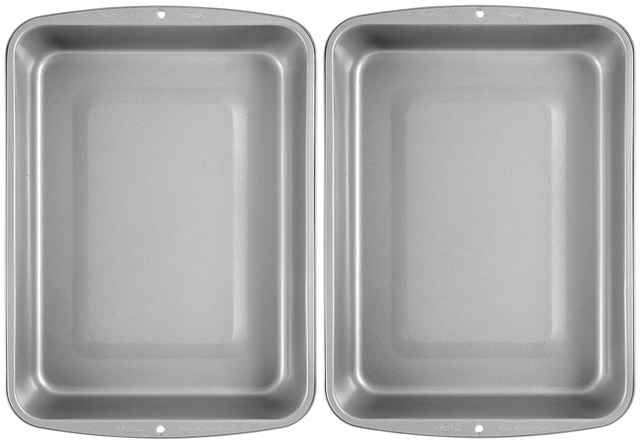 Wilton Recipe Right Non-Stick Medium Roasting Pan (Pack of 2 Pans) by Wilton