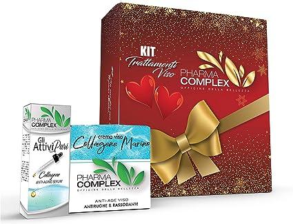PHARMA COMPLEX crema facial de colágeno marino con colágeno de lujo puro CB147: Amazon.es: Belleza