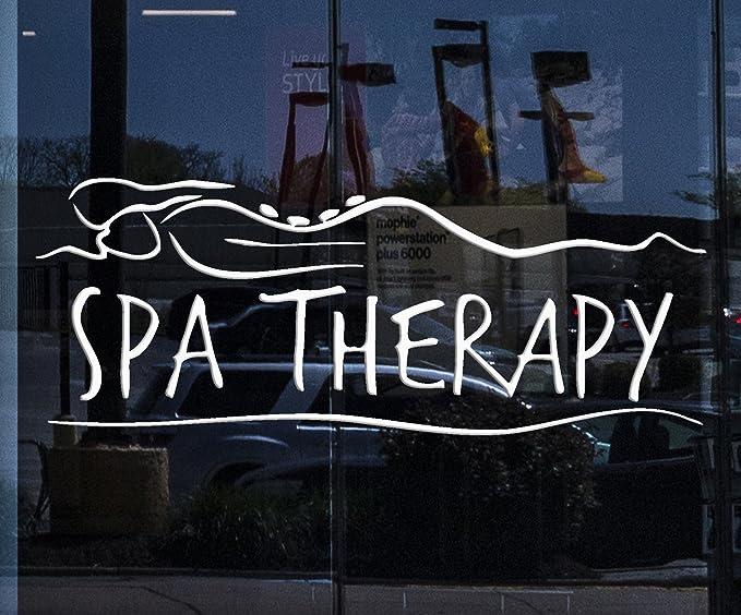 Wall Decal Window Sticker Beauty Salon Spa decal massage decal spa salon decals t74