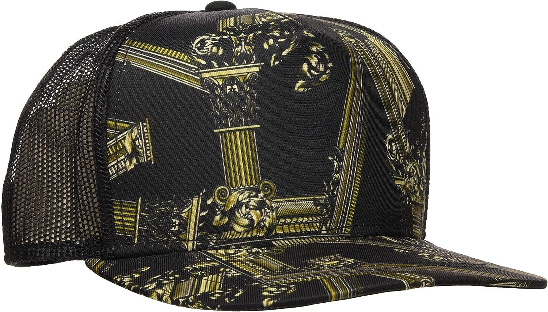 VERSACE JEANS COUTURE Hat Gorra de béisbol, Negro 899, única ...